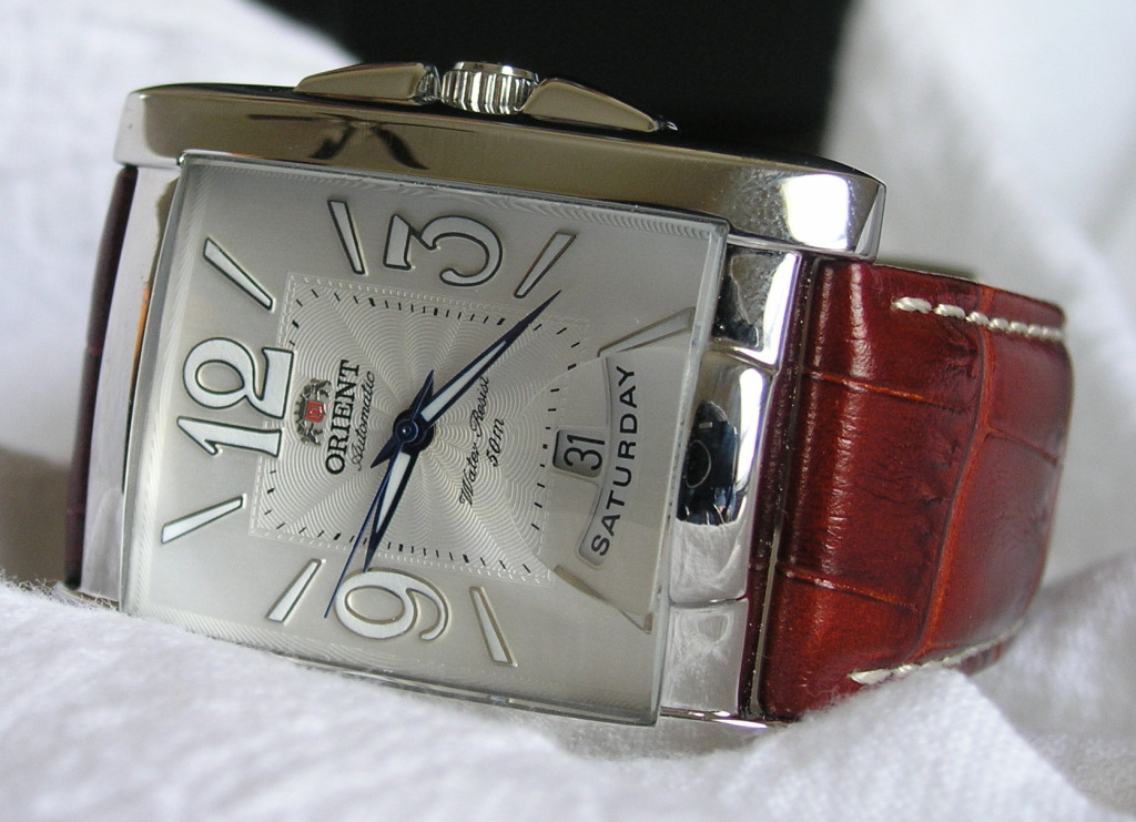 orient watch serial number location