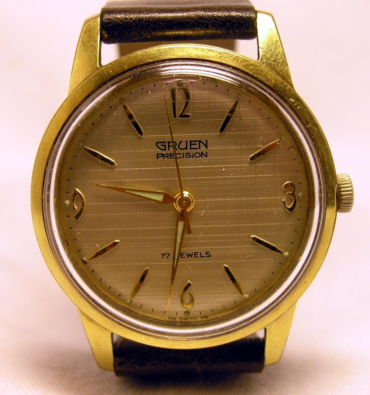 gruen precision vintage watches at. Black Bedroom Furniture Sets. Home Design Ideas
