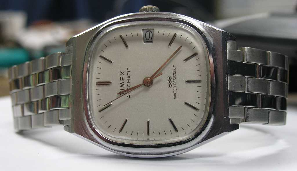.com » Blog Archive » Watch Review: Vintage Timex Square Faced